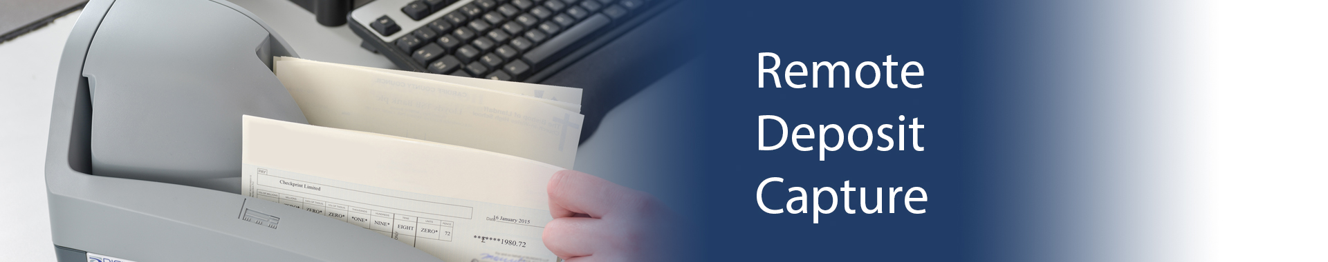 remote deposit capture