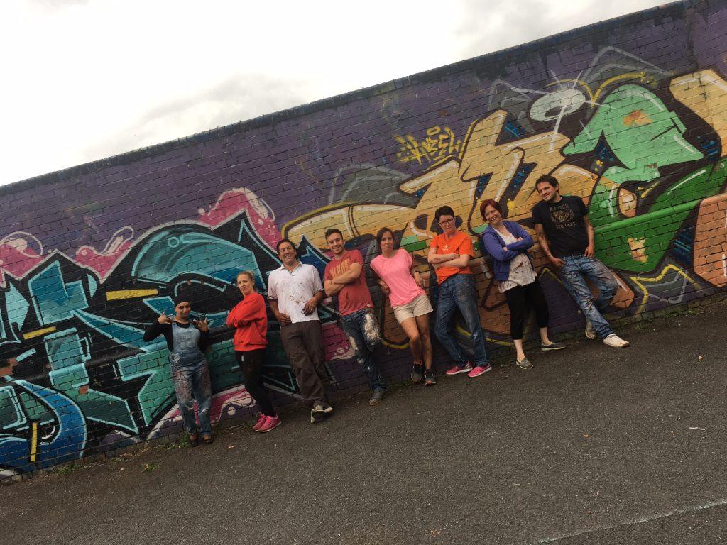 Checkprint brushes revitalise local playground