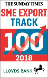 Sunday Times Lloyds SME Export Track 100 Logo