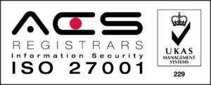 ISO27001 accreditation logo