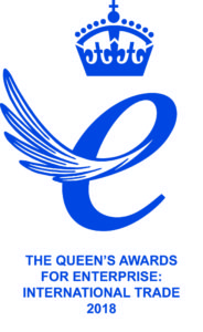 Queen's Award for Enterprise: International Trade 2018 logo