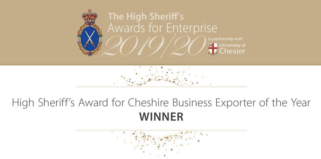 High Sheriff of Cheshire Export Award