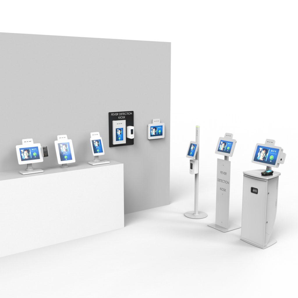 Guardian fever detection kiosk